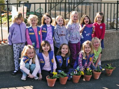 Volunteer Group - Girl Scouts